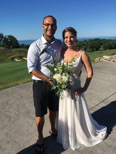 Congratulations, Ellen and Nick!